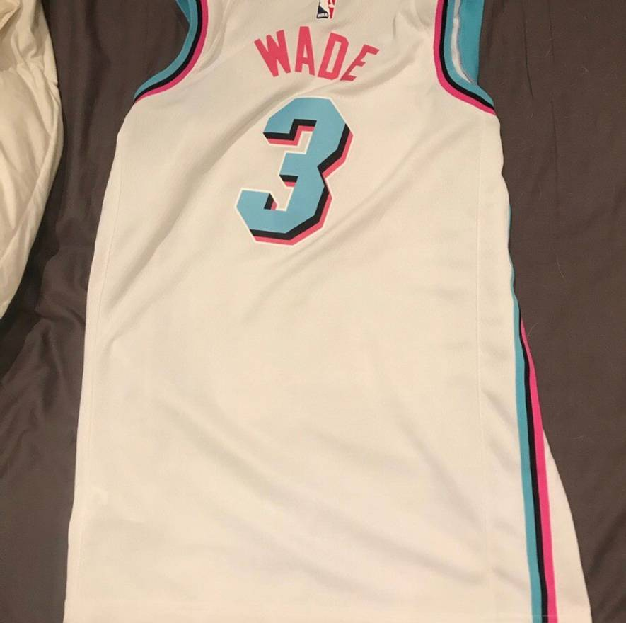 buy online 28566 f9673 promo code for miami vice heat jersey for sale 86492 e4239
