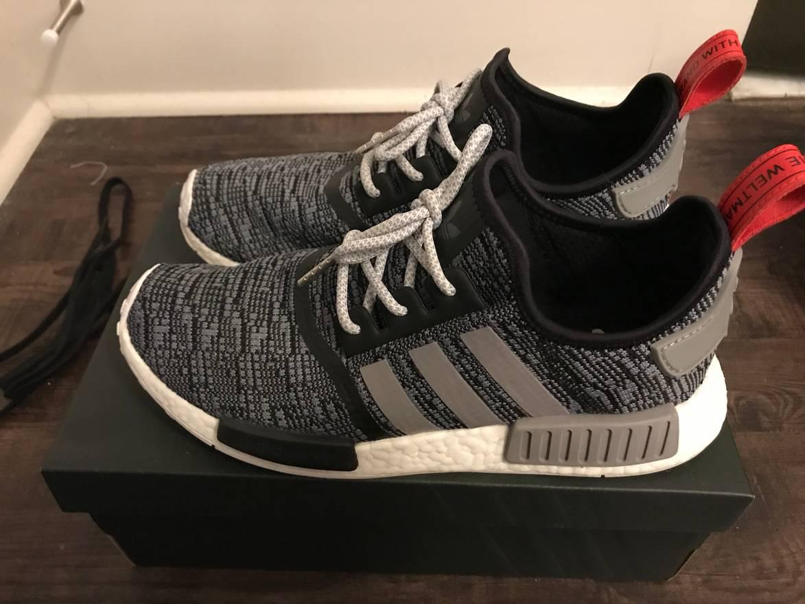 Adidas x Supreme x LV NMD R1 womens NMD FASHION