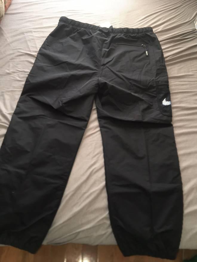 Supreme X Nike 3M Track Pants In Black Size US 36 EU 52