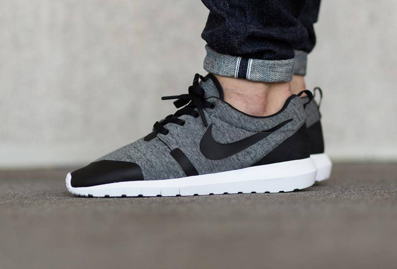 a77d4c4bb3706 wholesale nike nike roshe run nm tp tech fleece grey us size 8 size us 8
