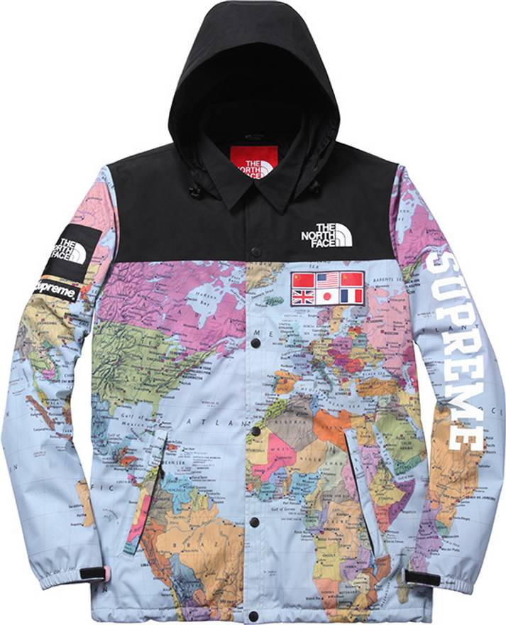 b1fb0cb03 canada the north face jacket map year dc64e 997ef