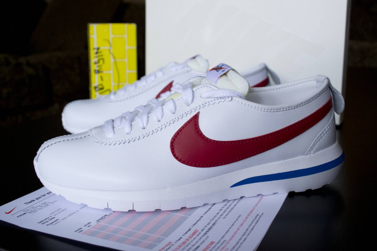 finest selection b3742 a61e7 coupon code for nike cortez roshe forrest gump 112da 11ad9