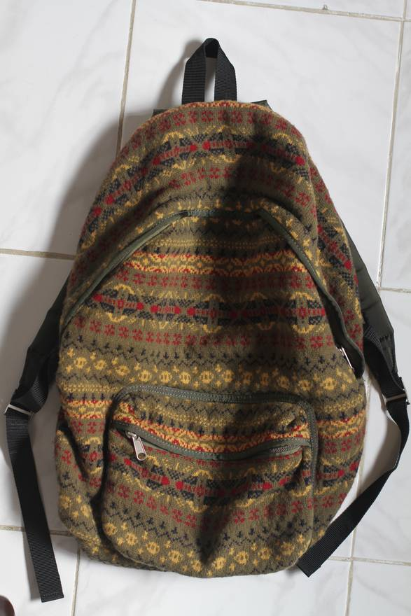 Junya Watanabe Wool Knit Backpack Size One Size Bags Luggage For