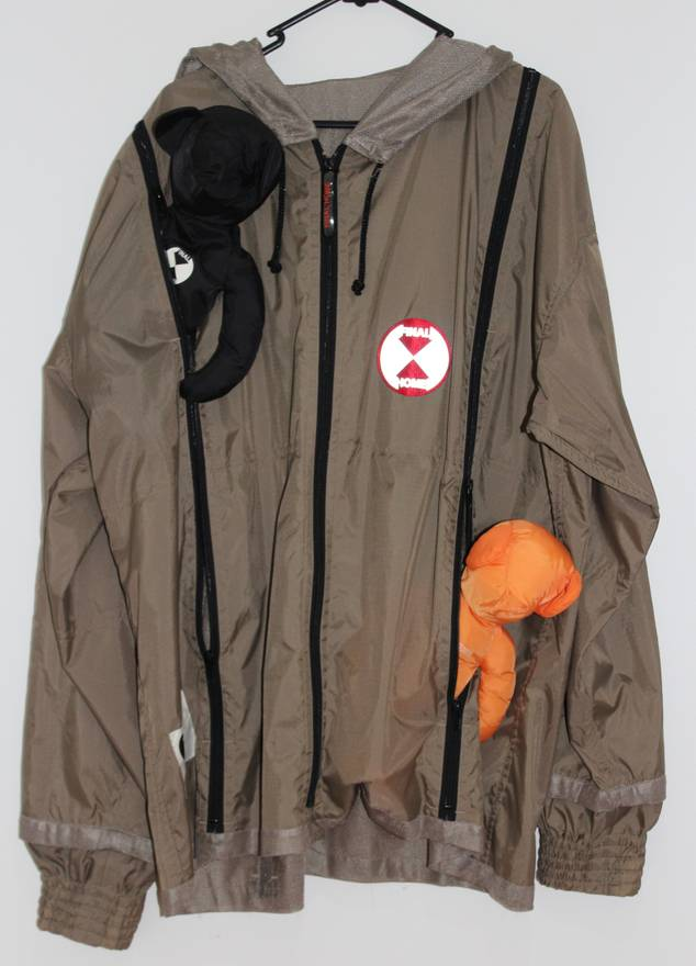 final home survival jacket size xl raincoats for sale grailed