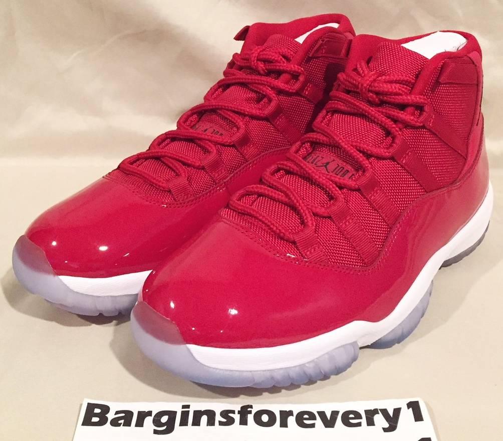 best sneakers e997e 08b02 nike air jordan 11 retro gym red 378037 ... e98adbca4