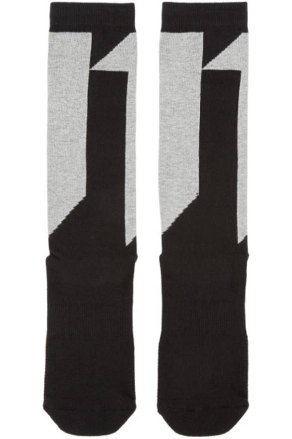 logo socks - Black Boris Bidian Saberi