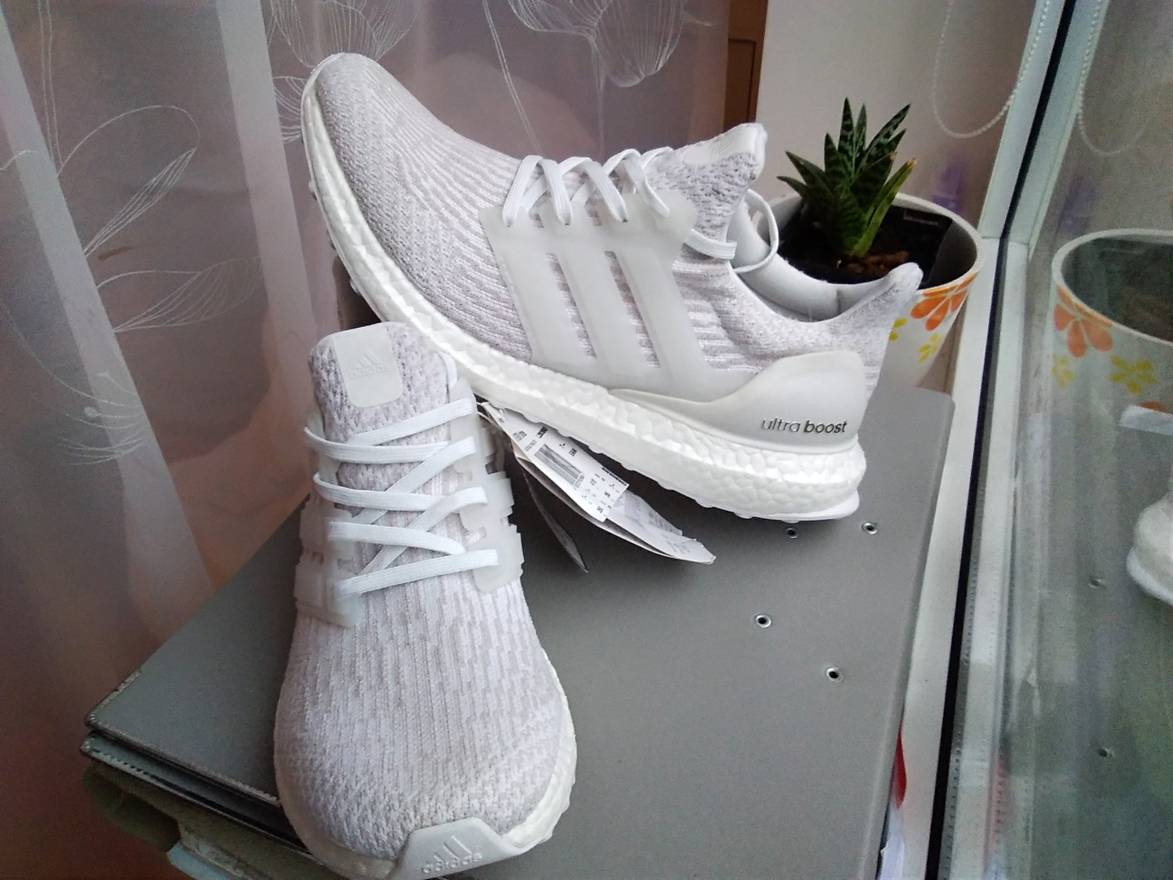 34495325dd4 ... canada adidas adidas ultra boost 3.0 women womens girl white pearl grey  under retail size us
