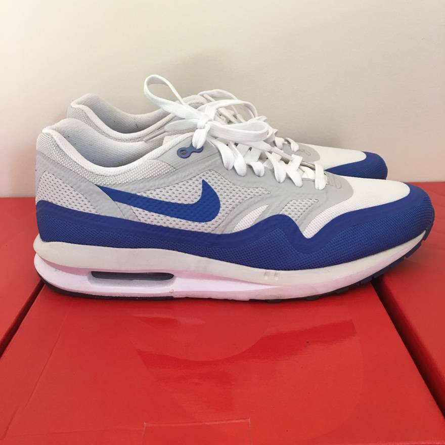 new arrival 6ad35 bd904 ... shoes white red grey us 654469 101 6.0 541424 21809 9fa15  czech nike  nike air max lunar 1 og royal blue wmns size 11 mens 9.5 vnds