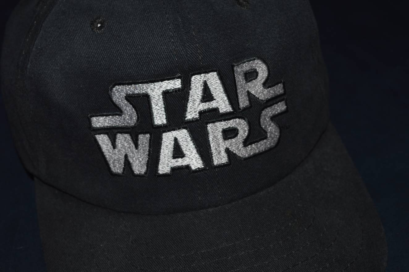 5245934db2d0a ... where can i buy vintage vintage star wars embroidered logo snap back hat  size one size