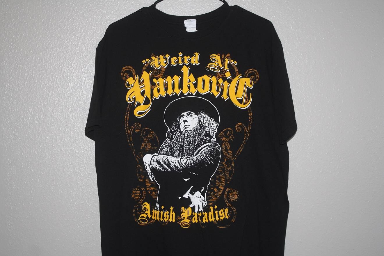 "Vintage Weird Al Yankovic ""Amish Paradise"" Tee Size l - Short Sleeve ..."