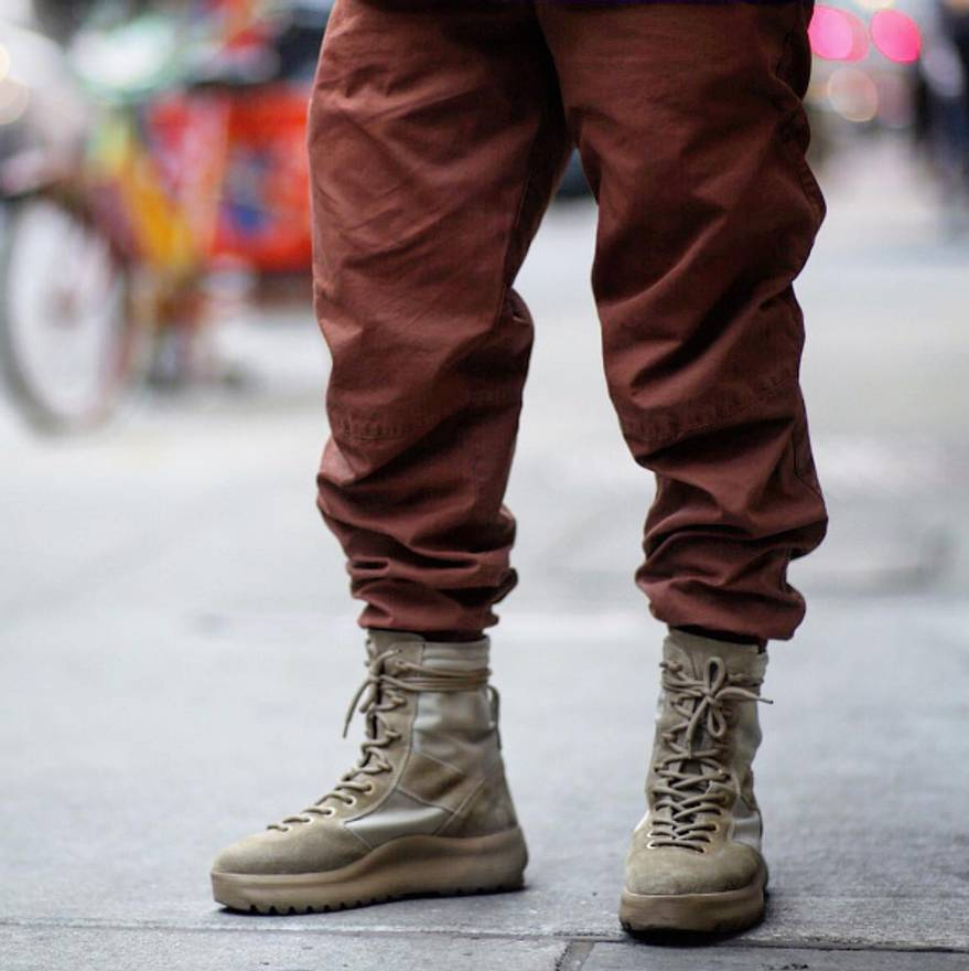 2a00edf226b97 yeezy military boot sizing