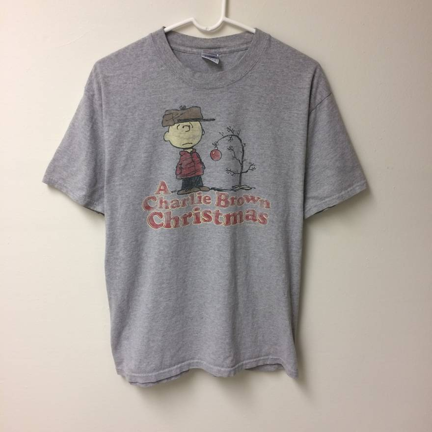 vintage a charlie brown christmas t shirt size us l eu 52 54