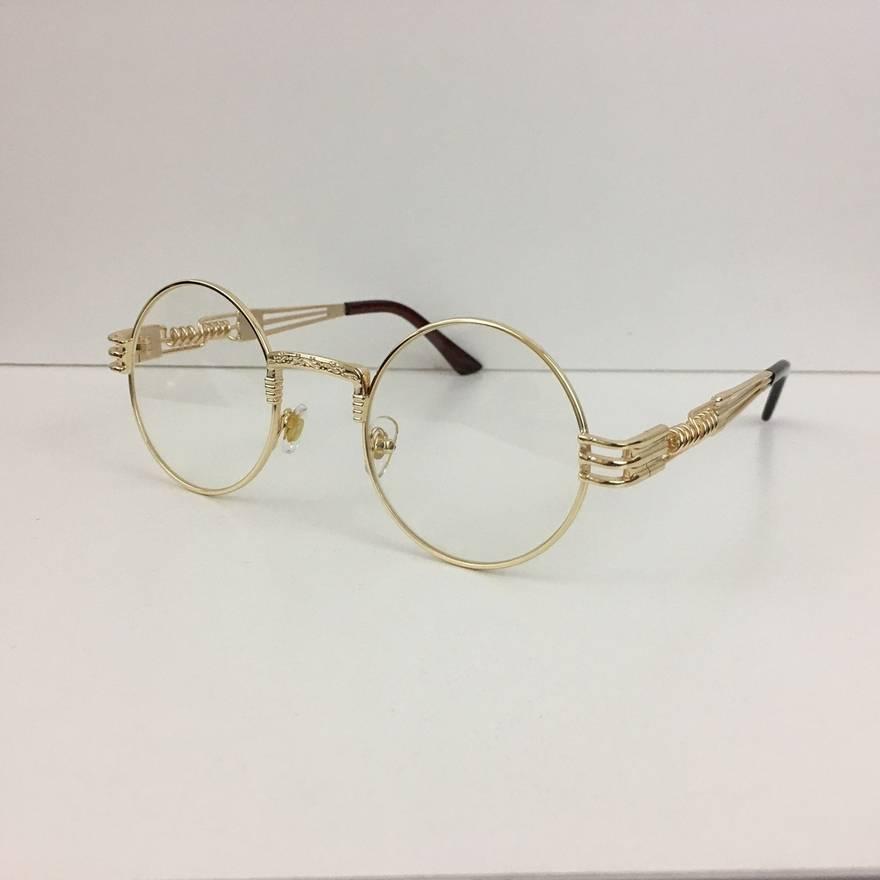 Syndicate Vintage Gold Framed Glasses Size one size - Glasses for ...
