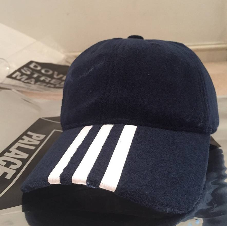 12c7e223e8f1c inexpensive supreme palace x adidas velour 5 panel cap size one size 65803  1bf46