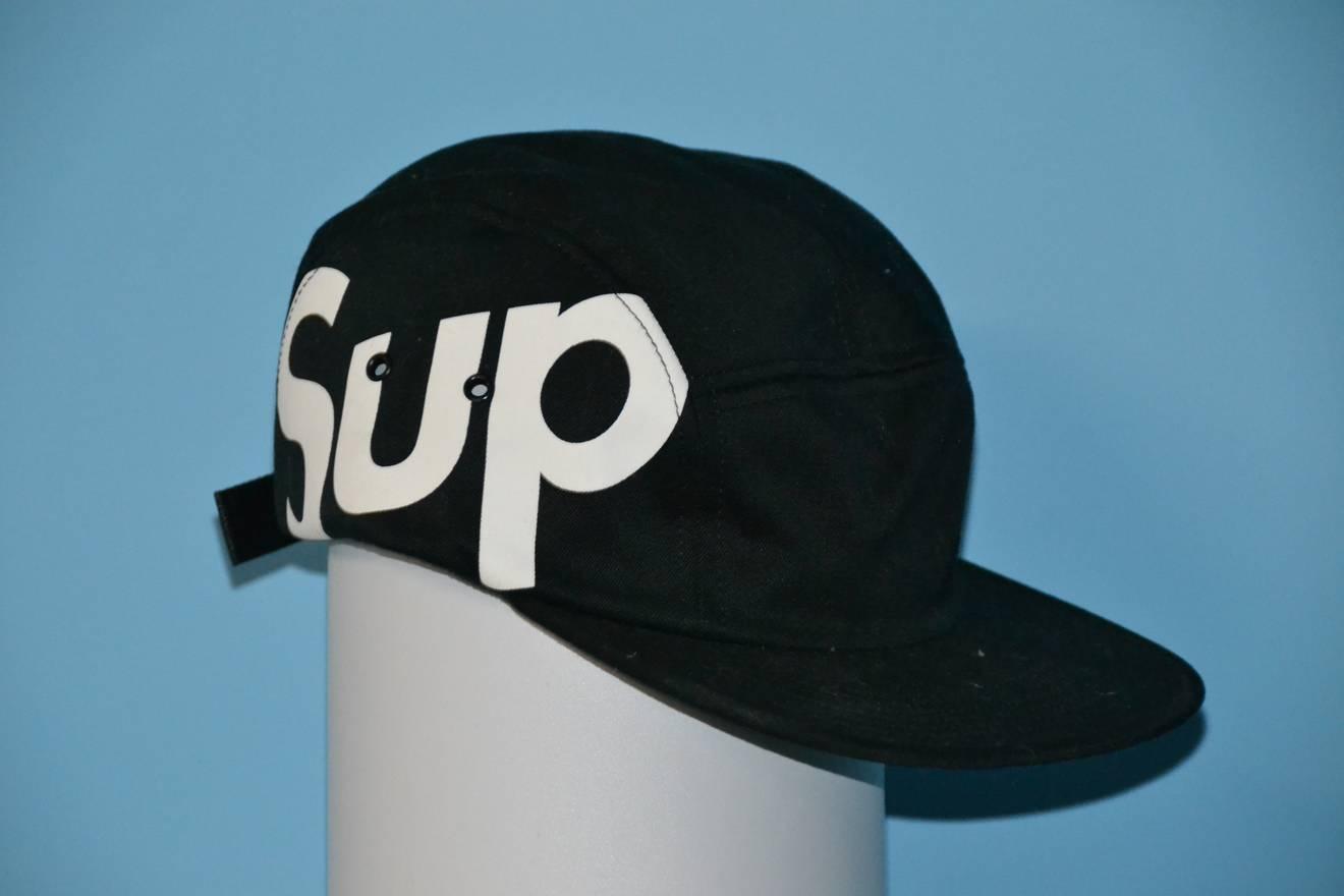 ec4a90724cd7 ... top quality supreme supreme sup side logo hat size 00e0a 64cf5