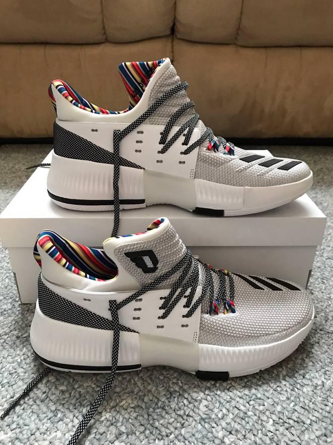 buy online 05d31 db2db ... uk adidas d lillard 3 bhm size us 9 eu 42 77dfe b9812