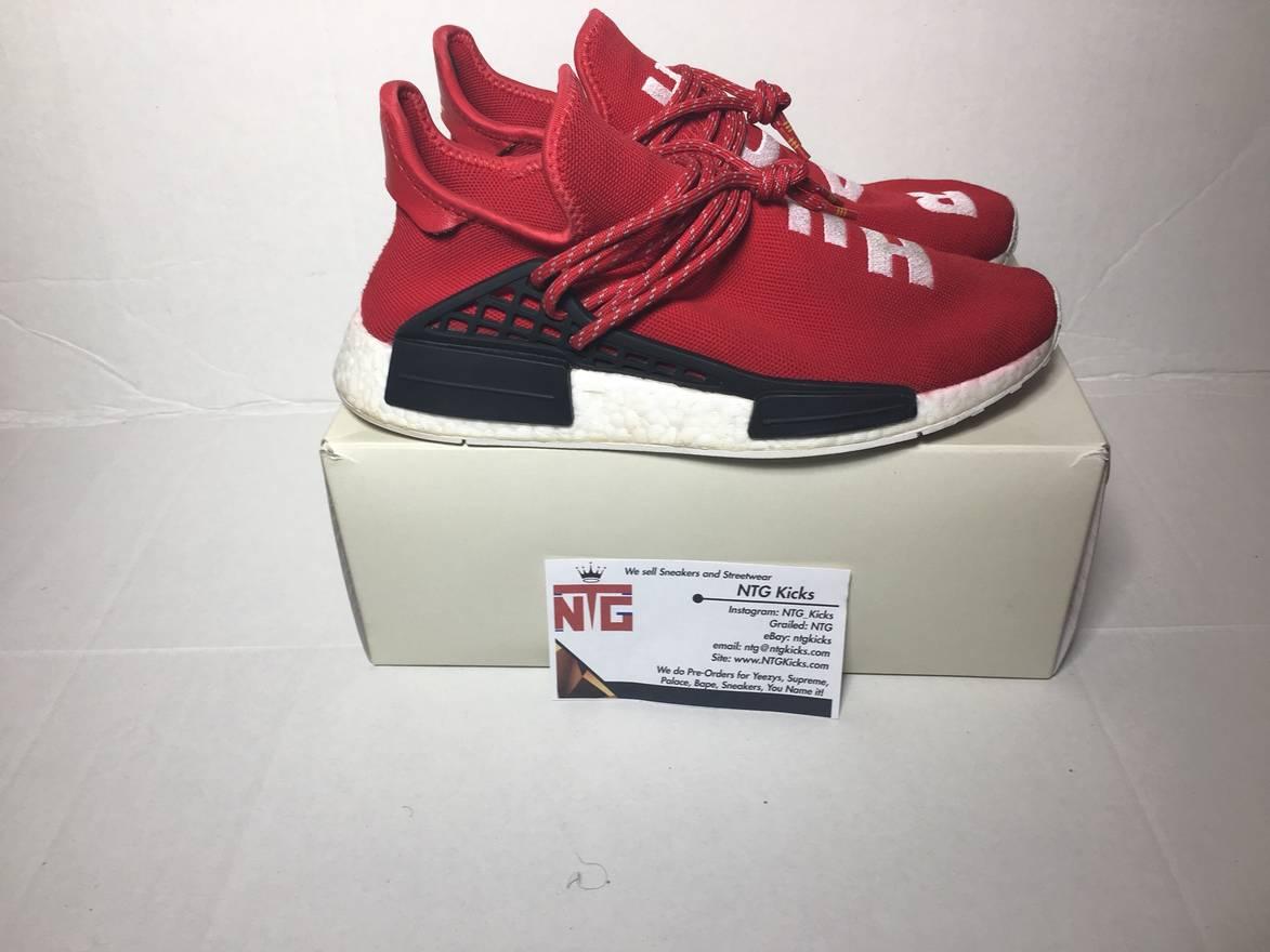 Adidas Pharrell Williams OG 9 raza humana roja 440 NMD tamaño superior 9 bajo superior 72ca0df - rspr.host