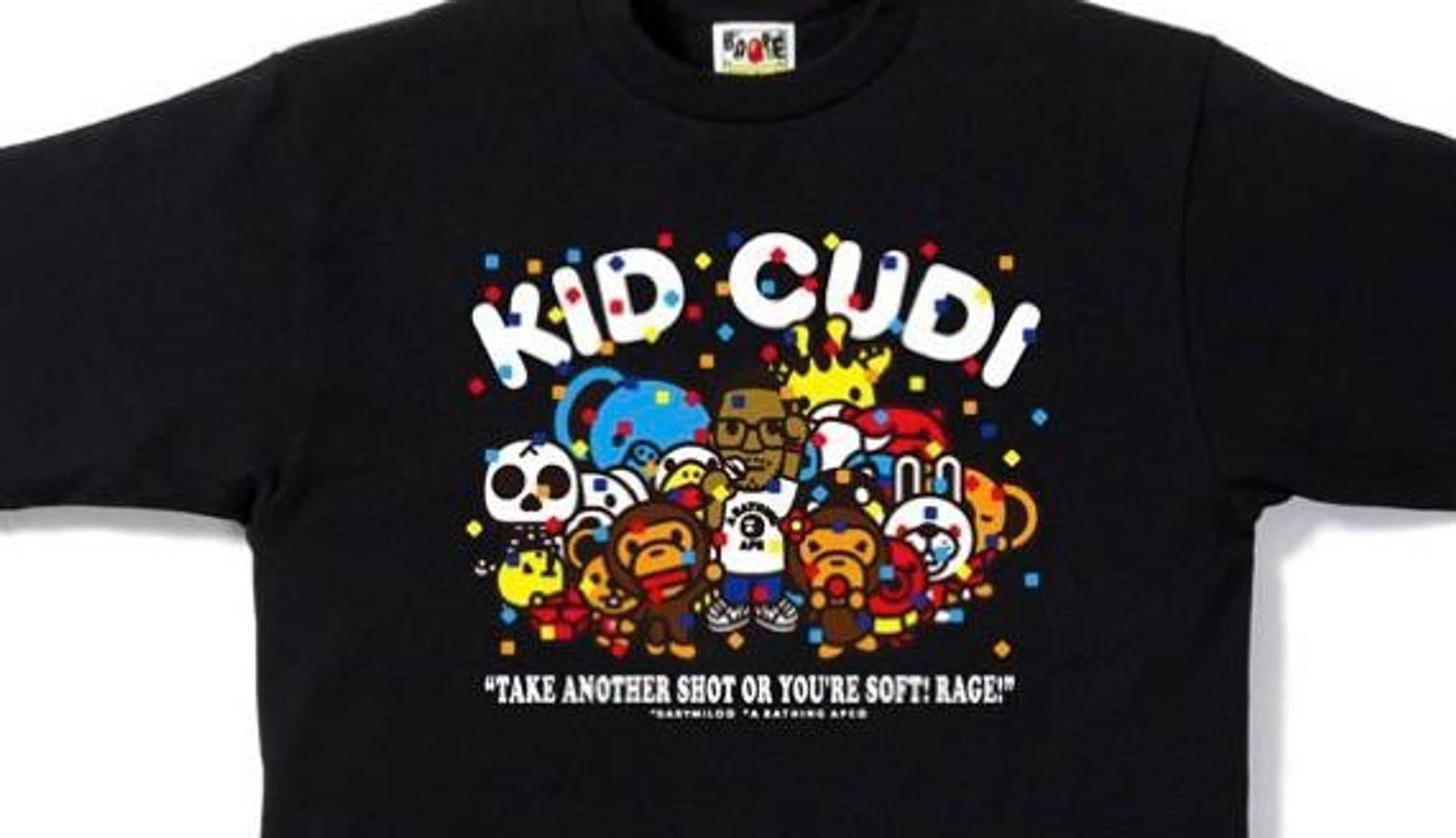 3c4d00d14 Kid Cudi Bape Party Tee