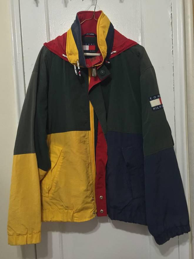 Tommy Hilfiger Vintage Jacket Size L Light Jackets For Sale Grailed