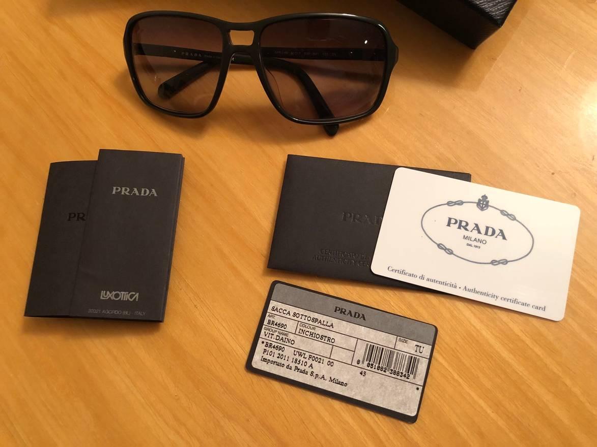 f1c8097db89e ... denmark prada prada sunglasses size one size 3 522c3 514f6