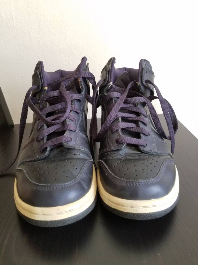 best loved 32b1e 543a3 ... new zealand nike nike dunk high co.jp metallic purple nds size us 8 eu