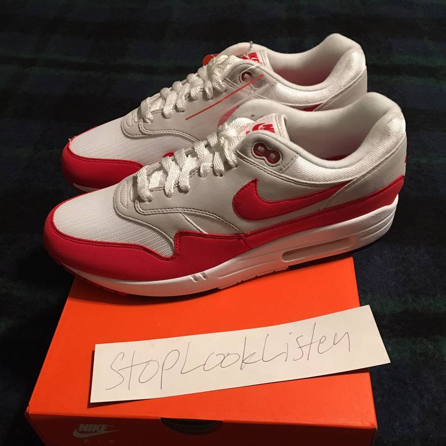 online store 26e46 c17e5 ... discount code for nike nike air max 1 anniversary og university red  size 10 ds 103