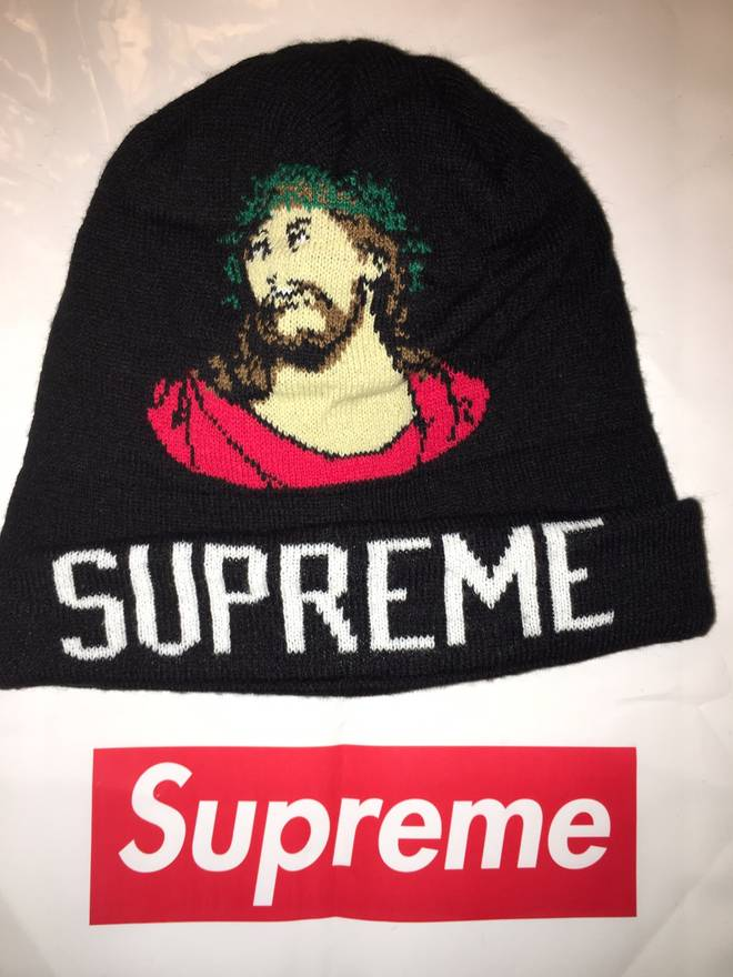e72be042949 ... best price supreme jesus christ beanie size one size 4d5f3 be76d
