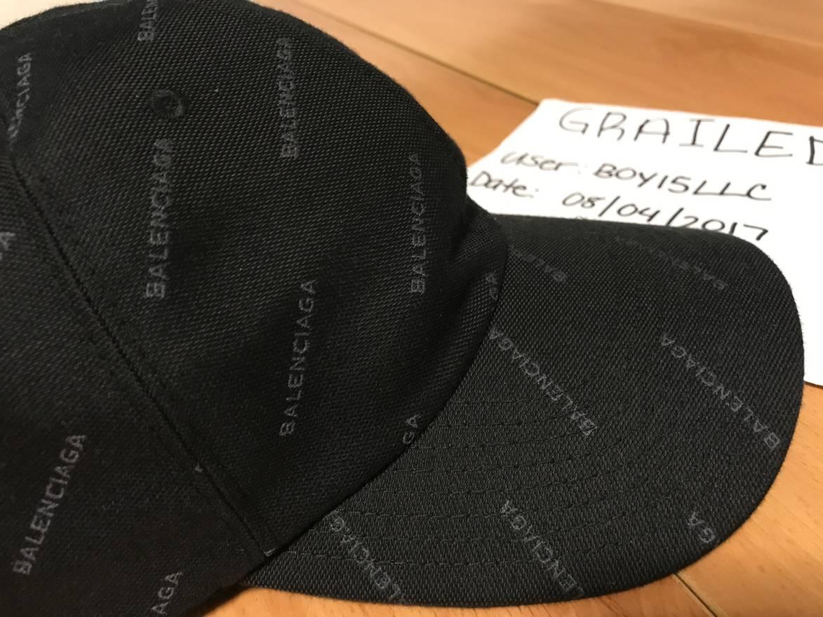 79edc42e81b Balenciaga Baseball Cap Black