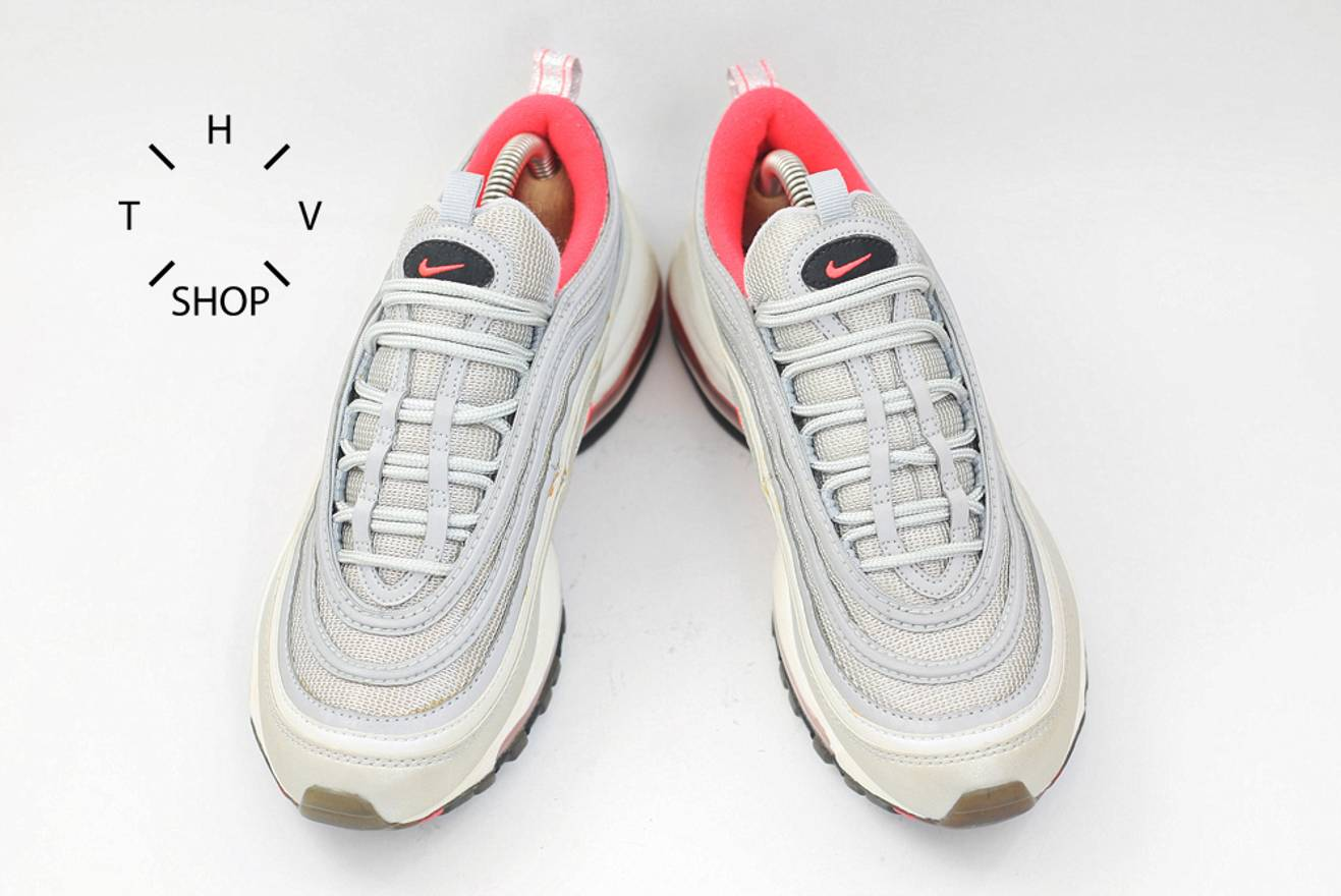 e0eaed81db sweden nike air max 97 silver pink 429641 007 bullet og 90s kicks sneakers  trainers deadstock