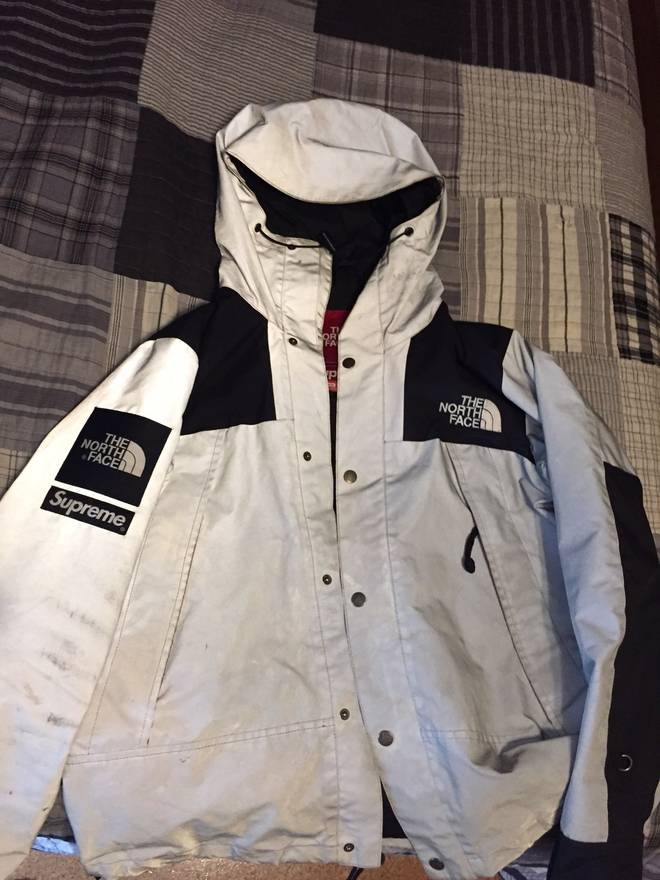 The north face x supreme 3m the north face x supreme 3m reflective expedition world map jacket ebay gumiabroncs Gallery