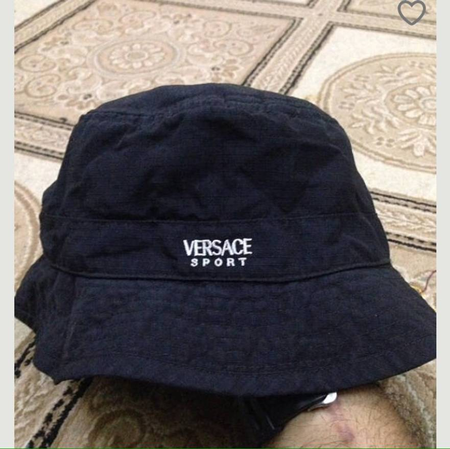... low price versace sport packable bucket hat size one hats for 624e7  cdfd5 ... 78c10285f58