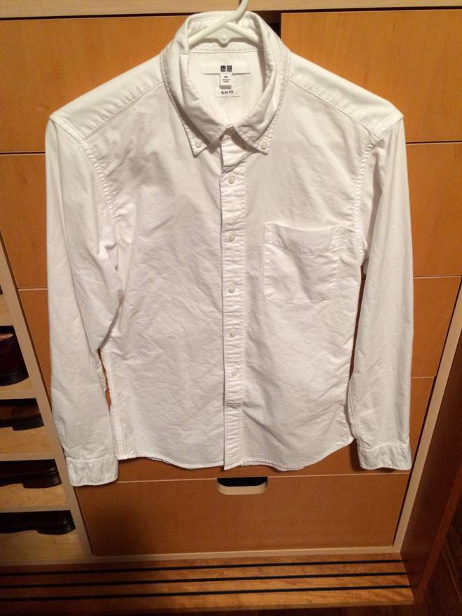 uniqlo ocbd size xs for sale grailed