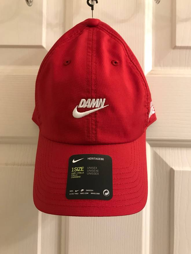 los angeles c9854 be179 ... shopping nike nike x kendrick lamar damn heritage86 hat size one size  04dc8 bb72e