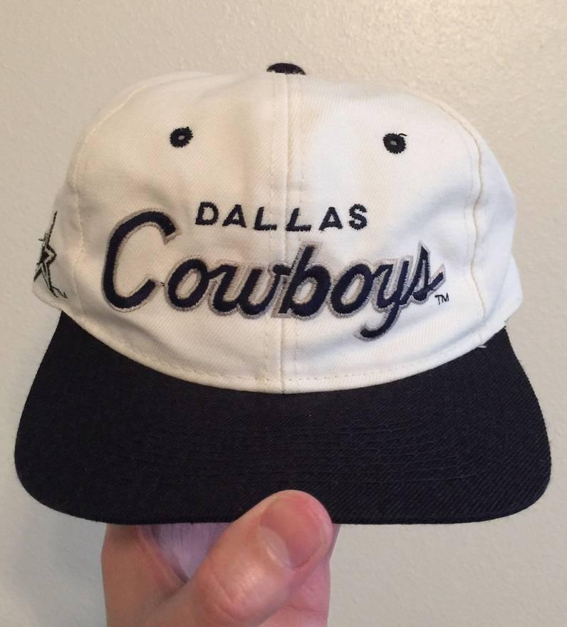 ... ireland vintage dallas cowboys script snapback hat size one size 2a559  26540 b8019fa445e1