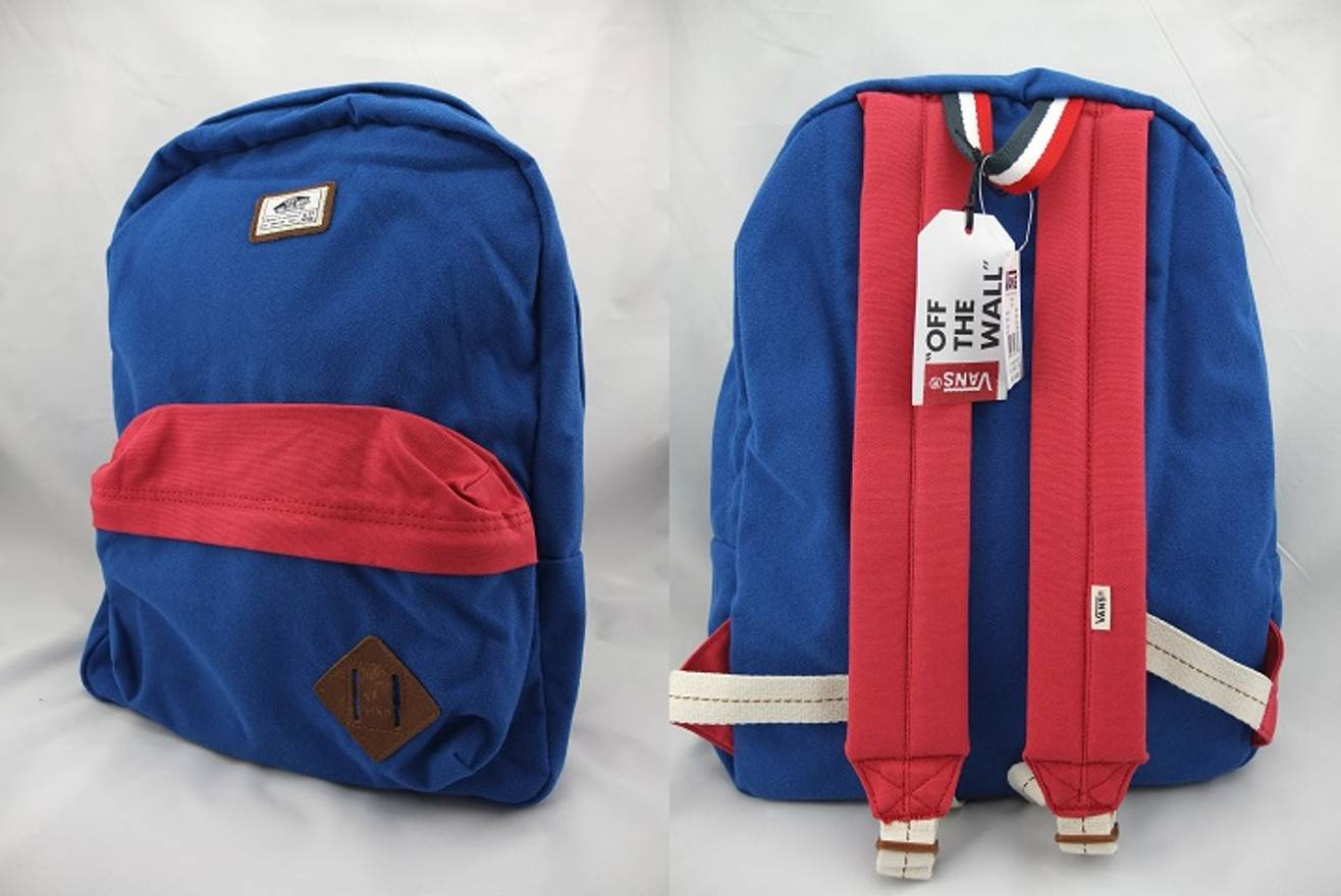 Vans Blue And White Backpack- Fenix Toulouse Handball d85612939dd5a