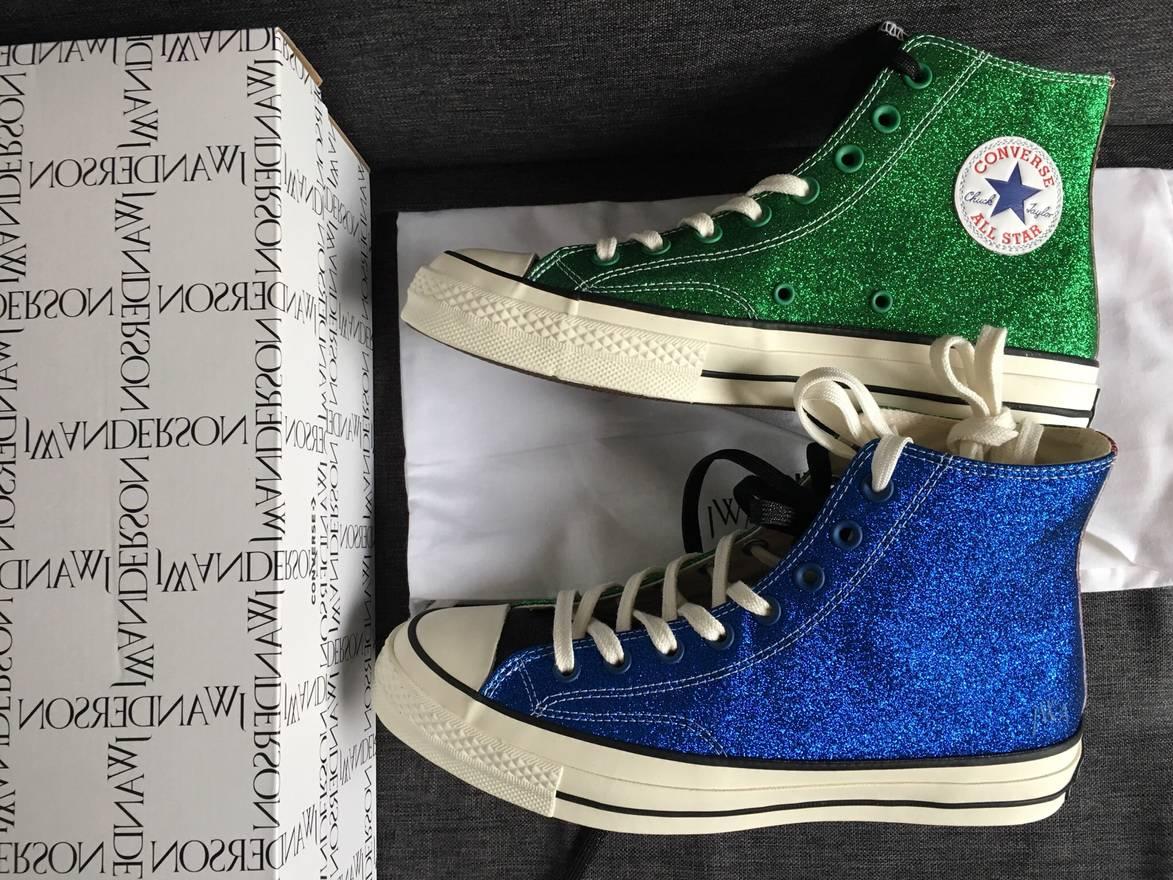 Converse J.W. Anderson Glitter Low-Top Sneakers
