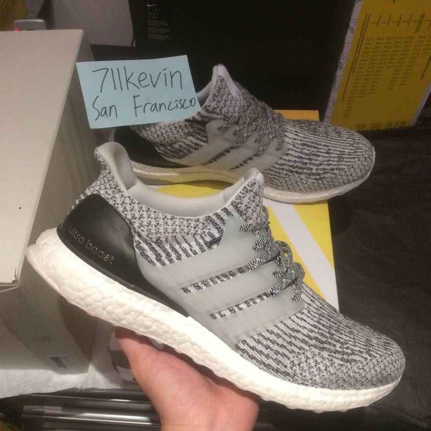 low priced 3e286 f1118 ... coupon code for adidas adidas ultra boost 3.0 oreo zebra size us 10.5  eu 43 44