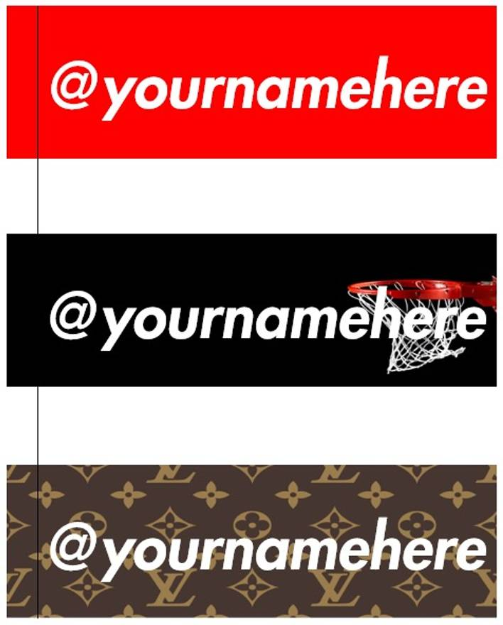 Other custom box logo stickers size one size 2