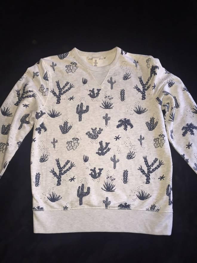 ... HM Cactus Sweater HM Size US L EU ... buy popular cb532 4c3dd ... ded16090b