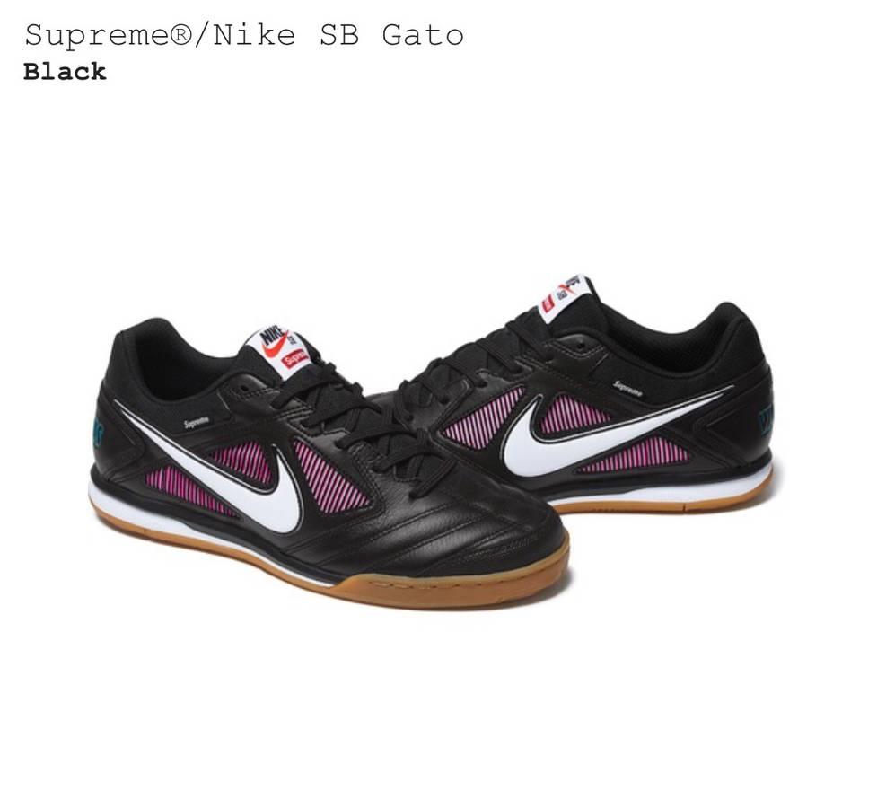 newest 7cb9c e47b7 Model SB Supreme Supreme x Nike SB Gato shoes Size US 10 EU 43 ... popular  ...