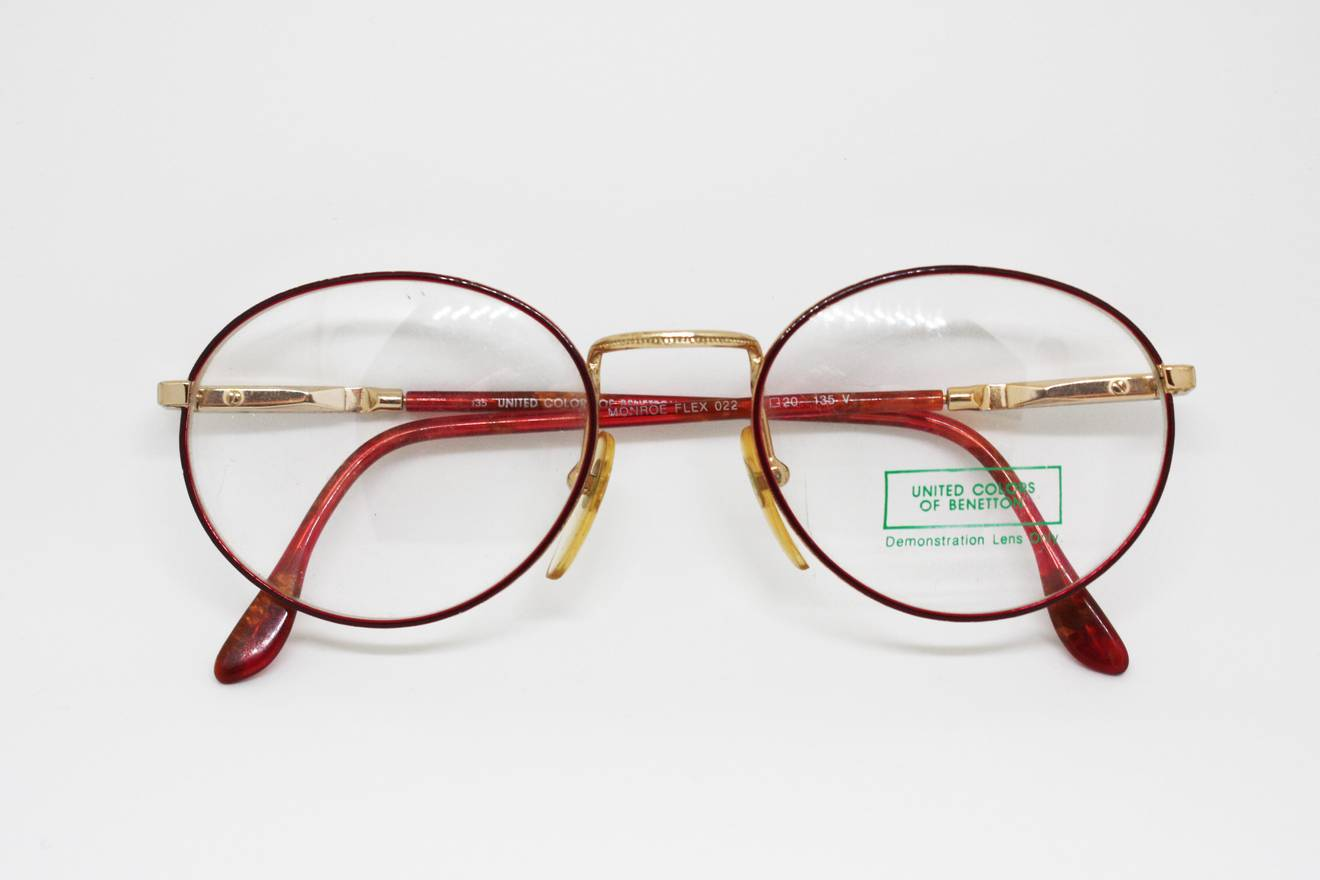 United Colors Of Benetton 80s eyewear eyeglasses made in Italy by ...
