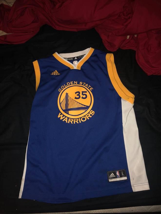 6e3701eba8fa purchase adidas kevin durant golden state jersey youth large size us xxs eu  40 2 373e6