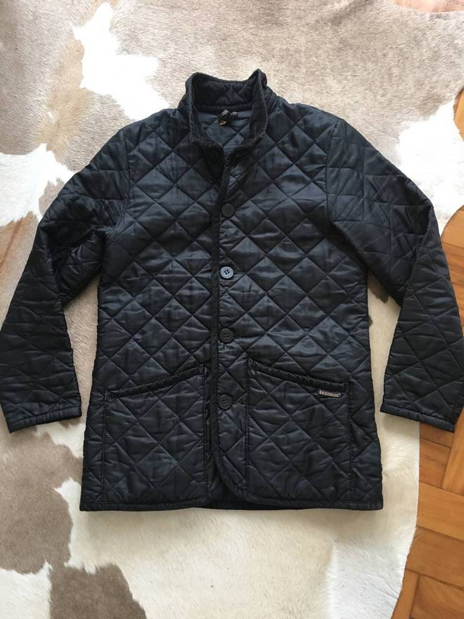 Lavenham Slim Fit Padded Quilted Jacket Made In England Size M