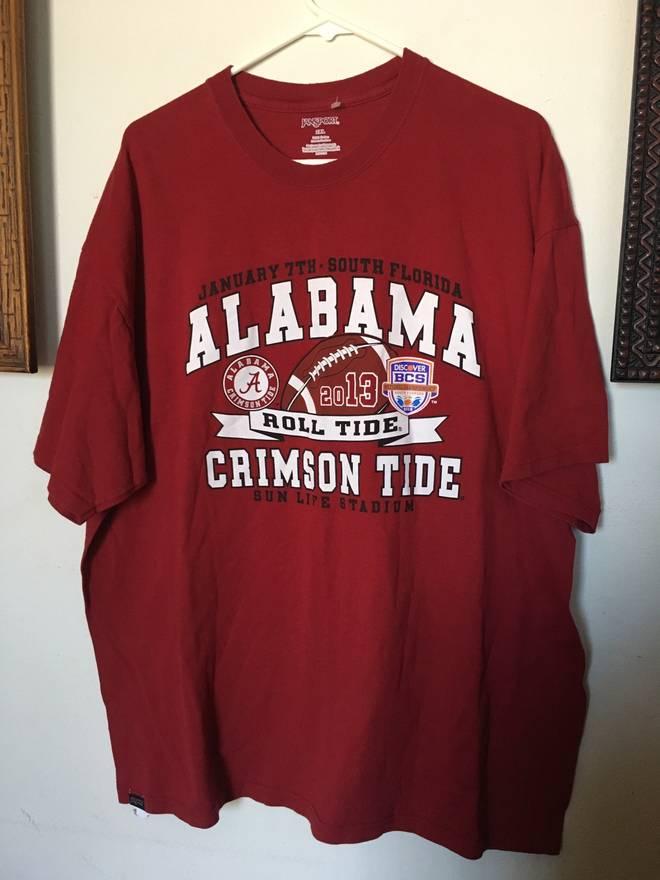 Jansport Vintage Alabama College T Shirt Size xxl - Short Sleeve T ...