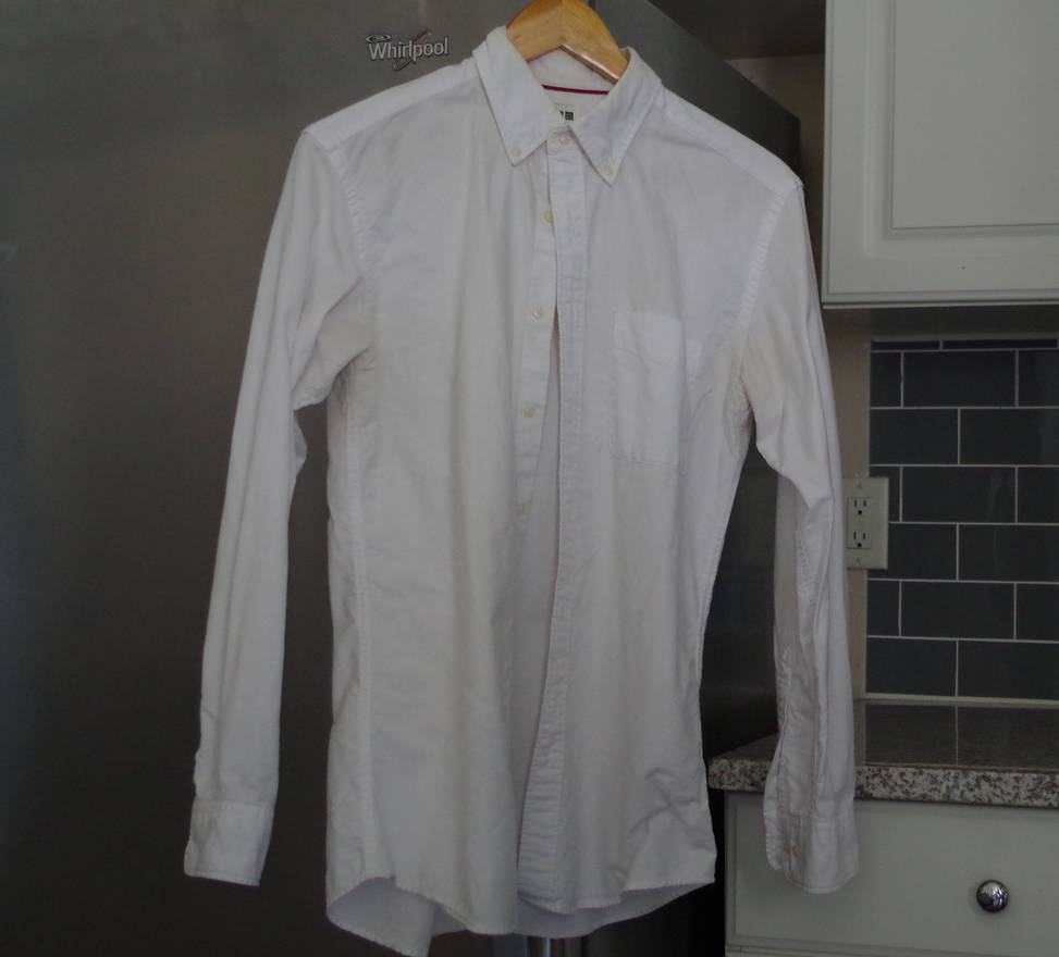uniqlo white uniqlo ocbd button down size s shirts button ups