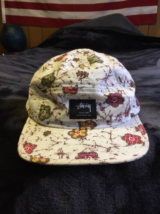 521d4637898 ... order stussy white stussy floral hat size one size a93be c430d