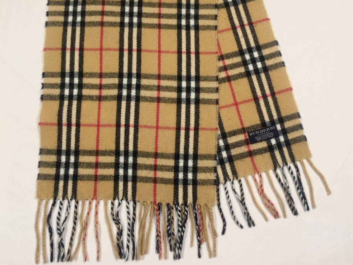 a5b18cf53b17 ... discount code for burberry burberry london scarf mufler 100 lambswool  made in england size one size