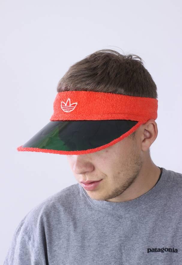 2c673fc01a3 ... quality design 66120 1374e Adidas 80s Vintage Mens ADIDAS ORIGINALS  Visor Cap Size ONE SIZE . ...