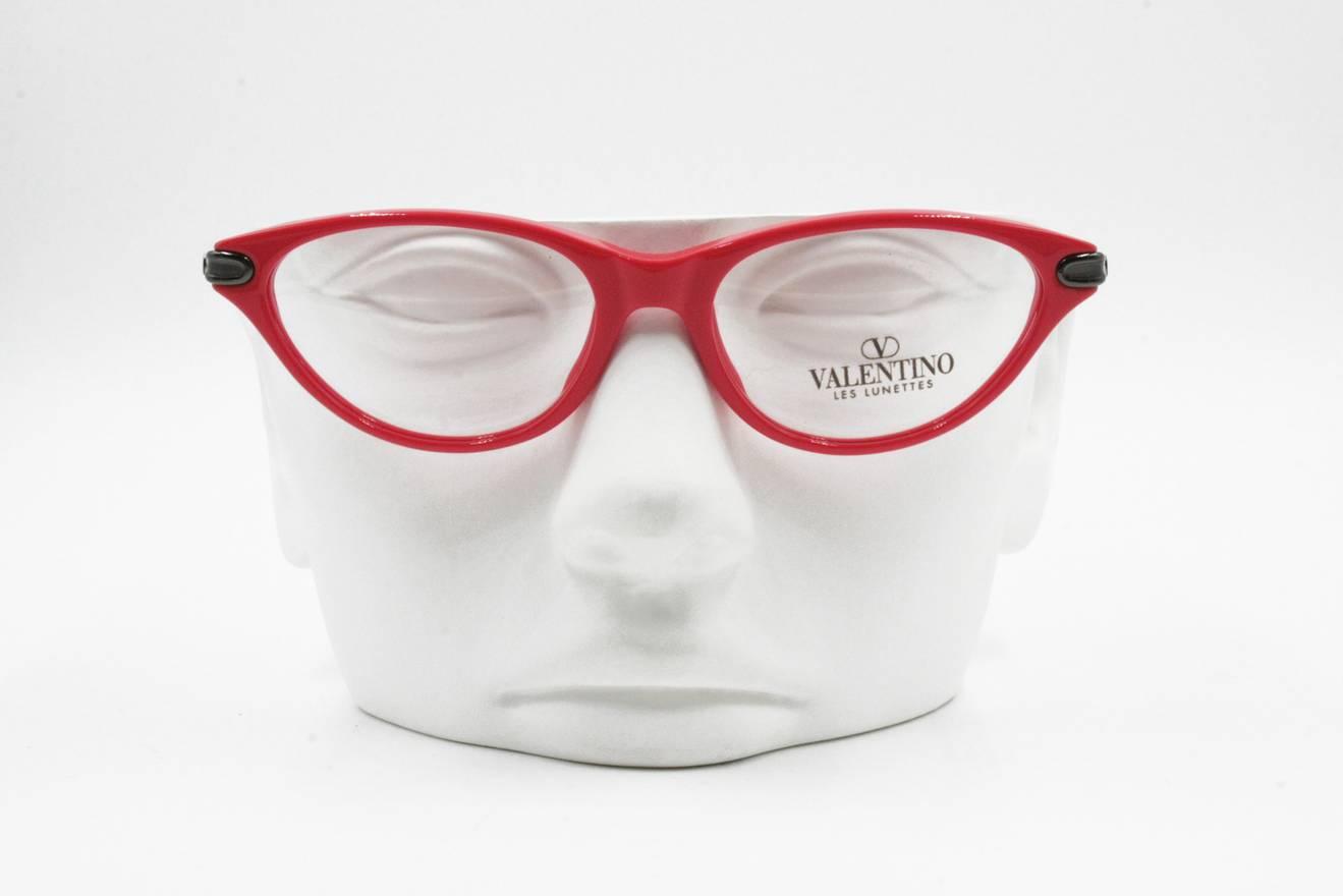 Valentino Valentino Les Lunettes V203 233 red cat eye women eyeglass ...