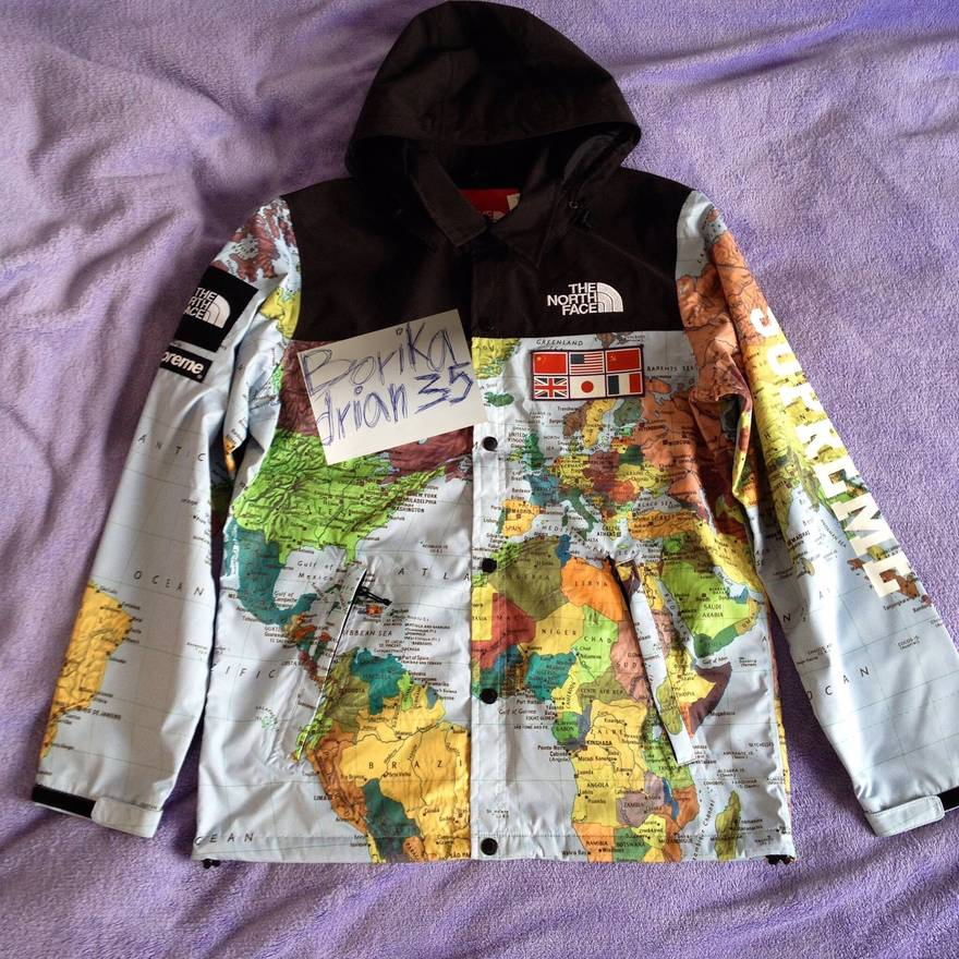 5e67cd8f ... coupon code for supreme supreme x the north face expedition map jacket  size us l eu